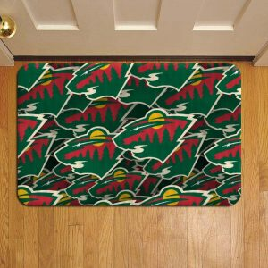 Minnesota Wild NHL Hockey Door Mat Foot Rug Doormat Steps