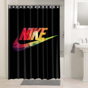 Nike Shower Curtains Bathroom Decoration Waterproof Polyester Fabric.