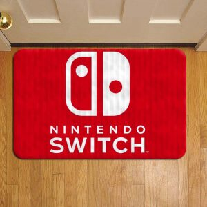 Nintendo Switch Console Door Mat Foot Rug Doormat Steps