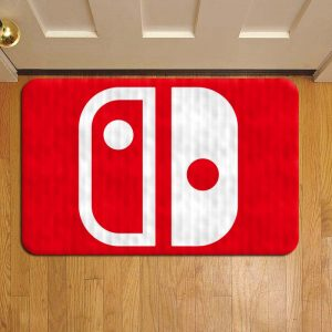 Nintendo Switch Console Rug Doormat Foot Door Mat Steps