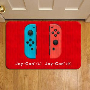 Nintendo Switch Console Foot Mat Doormat Rug Door Steps