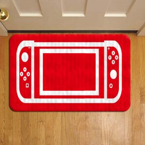 Nintendo Switch Console Doormat Foot Rug Door Mat Steps