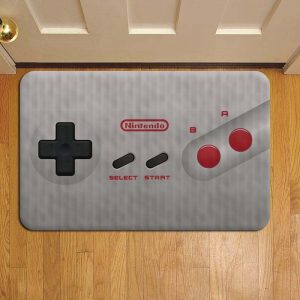 Nintendo Switch Rug Doormat Foot Door Mat Steps
