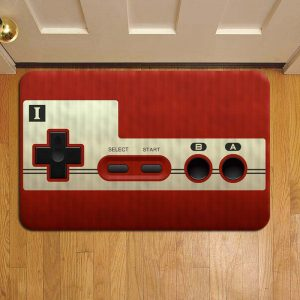 Nintendo Switch Console Door Steps Foot Doormat Rug Mat