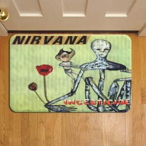 Nirvana Door Steps Foot Doormat Rug Mat
