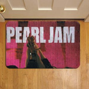 Pearl Jam Door Mat Foot Rug Doormat Steps
