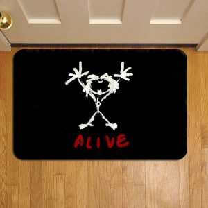 Pearl Jam Rug Doormat Foot Door Mat Steps