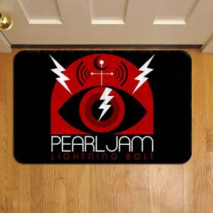 Pearl Jam Rock Band Foot Mat Doormat Rug Door Steps