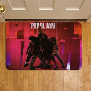 Pearl Jam Rock Band Door Steps Foot Doormat Rug Mat