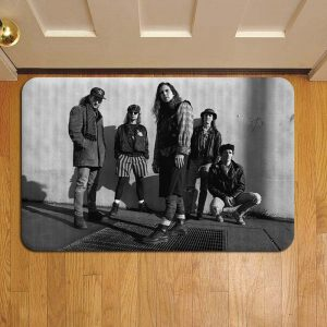 Pearl Jam Rock Band Doormat Foot Rug Door Mat Steps