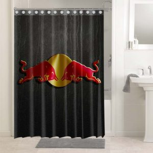Red Bull Shower Curtains