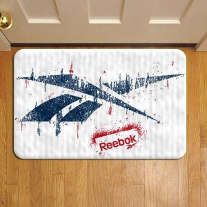 Reebok Logo Step Mat Doormat Foot Door Rug