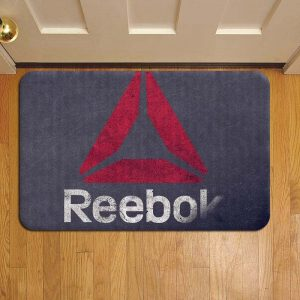 Reebok Logo Rug Doormat Foot Door Mat Steps