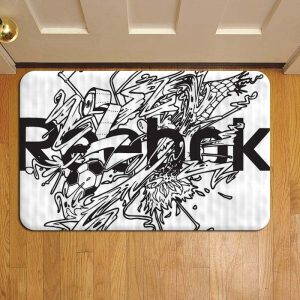 Reebok Door Steps Foot Doormat Rug Mat