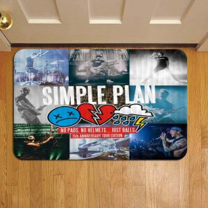Simple Plan Step Mat Doormat Foot Door Rug Mat