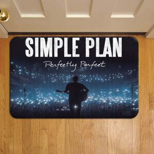 Simple Plan Rock Band Rug Doormat Foot Door Mat Steps