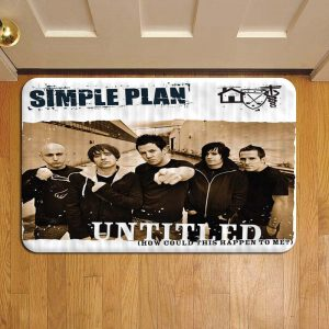 Simple Plan Rock Band Door Steps Foot Doormat Rug Mat