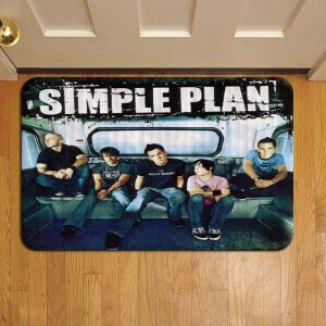 Simple Plan Door Mat Foot Rug Doormat Steps