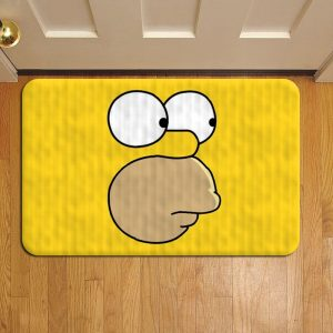 The Simpsons Cartoon Step Mat Doormat Foot Door Rug Mat