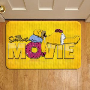 The Simpsons Show Door Steps Foot Doormat Rug Mat