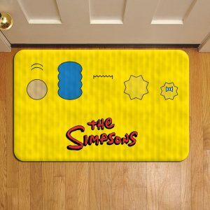 The Simpsons Rug Doormat Foot Door Mat Steps