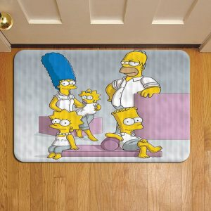 The Simpsons Foot Mat Doormat Rug Door Steps