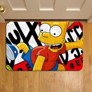 The Simpsons Show Doormat Foot Rug Door Mat Steps
