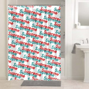 Supreme #4904 Shower Curtain Bathroom Decoration