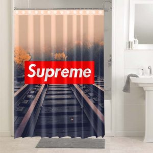 Supreme Railroad #4913 Shower Curtain Waterproof Bathroom Decoration