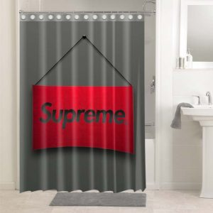 Supreme #4915 Bathroom Shower Curtain Decor