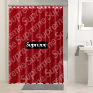 Supreme Pattern #4909 Shower Curtain Bathroom Decoration