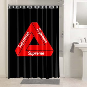 Supreme Triangle #4910 Bathroom Shower Curtain Decor