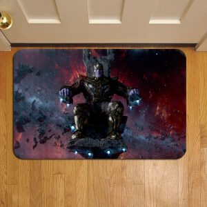 Thanos Marvel Avengers Doormat Foot Rug Door Mat Steps