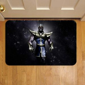 Thanos Marvel Avengers Door Mat Foot Rug Doormat Steps