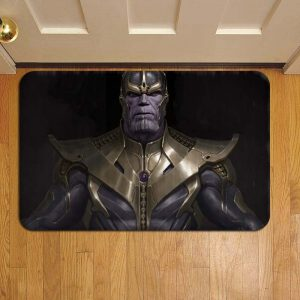 Thanos Marvel Avengers Rug Doormat Foot Door Mat Steps