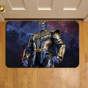 Thanos Marvel Avengers Foot Mat Doormat Rug Door Steps