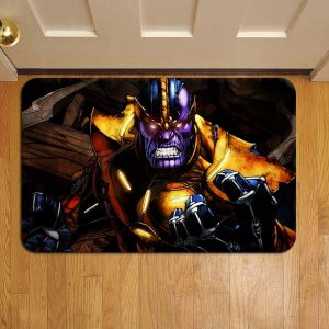 Thanos Marvel Avengers Door Steps Foot Doormat Rug Mat
