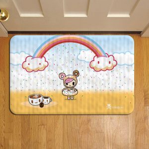 Tokidoki Unicorno Geisha Rug Doormat Foot Door Mat Steps