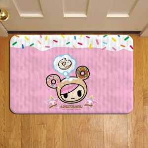 Tokidoki Donutella Geisha Foot Mat Doormat Rug Door Steps
