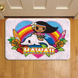 Tokidoki Unicorno Donutella Foot Mat Doormat Rug Door Steps