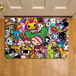 Tokidoki Unicorno Donutella Doormat Foot Rug Door Mat Steps