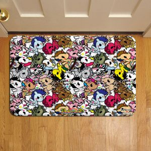 Tokidoki Unicorno Geisha Foot Mat Doormat Rug Door Steps