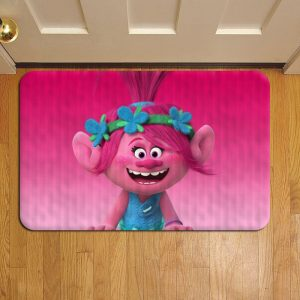 Trolls Cartoon Door Steps Foot Doormat Rug Mat