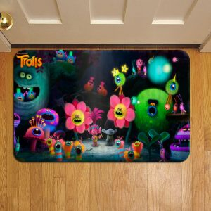 Trolls Movie Foot Mat Doormat Rug Door Steps