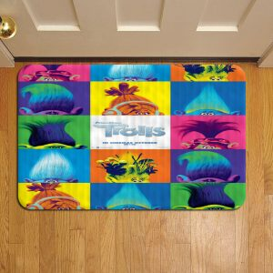 Trolls Door Steps Foot Doormat Rug Mat