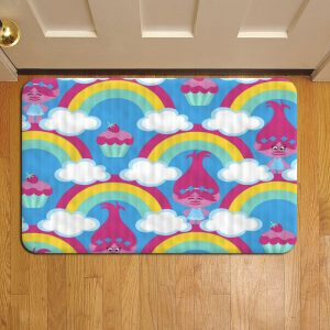 Trolls Doormat Foot Rug Door Mat Steps