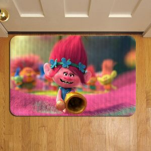 Trolls Cartoon Step Mat Doormat Foot Door Rug Mat
