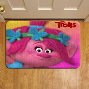Trolls Cartoon Doormat Foot Rug Door Mat Steps