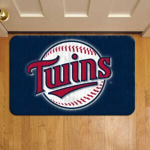 Minnesota Twins MLB Baseball Door Mat Foot Rug Doormat Steps