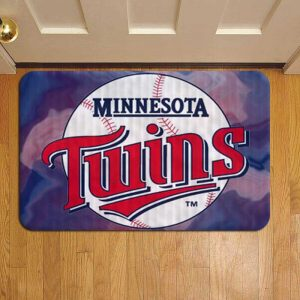 Minnesota Twins MLB Baseball Door Steps Foot Doormat Rug Mat